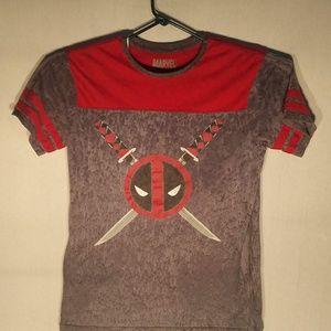 Marvel Deadpool T-Shirt, Men's Medium